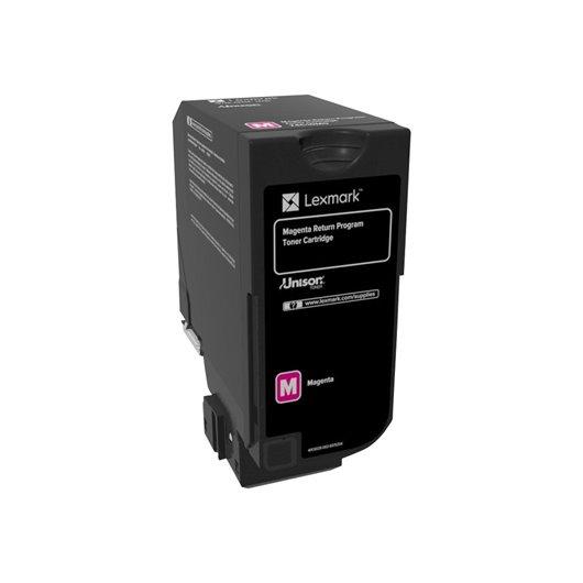Lexmark 74C20ME - Magenta - Toner Lexmark