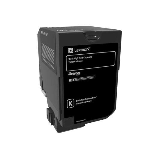 Lexmark 74C2HKE - Noir - Toner Lexmark