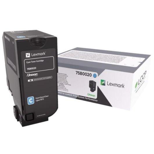 Lexmark 75B0020 - Cyan - Toner Lexmark