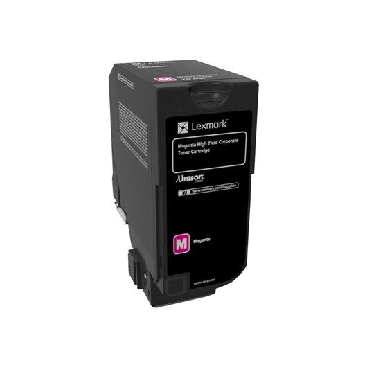 Lexmark 74C2HME - Magenta - Toner Lexmark