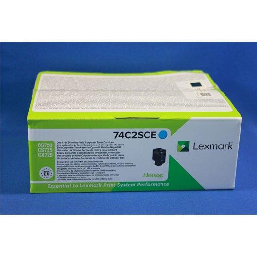 Lexmark 74C2SCE - Cyan - Toner Lexmark
