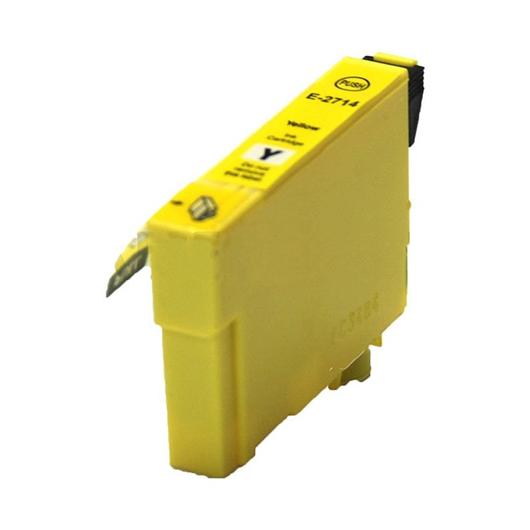 Compatible Epson T2714 - Epson 27XL -Epson  Reveil - Jaune - Cartouche d'encre Compatible