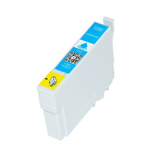 Compatible Epson T2712 - Epson 27XL -Epson  Reveil - Cyan - Cartouche d'encre Compatible