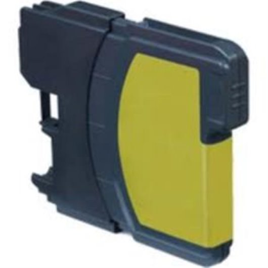 Compatible Brother LC-1280XLY - Jaune - Cartouche Compatible Brother