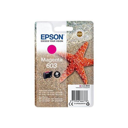 Epson 603 - Étoile de mer - Magenta - Cartouche d'encre Epson