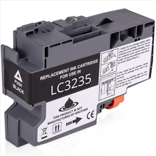 Compatible Brother LC-3235XLBK - Noir - Cartouche XL Brother