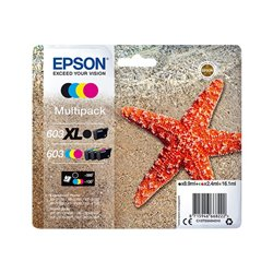 Epson 603XL - Étoile de mer - Multipack - Cartouche d'encre Epson