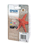 Epson 603 - Étoile de mer - MultiPack de 3 Cartouches d'encre Epson