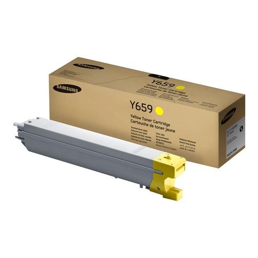 SAMSUNG CLT-Y659S/ELS Yellow Toner Cartridge