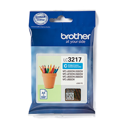 Brother LC-3217C - Cyan - Cartouche Brother