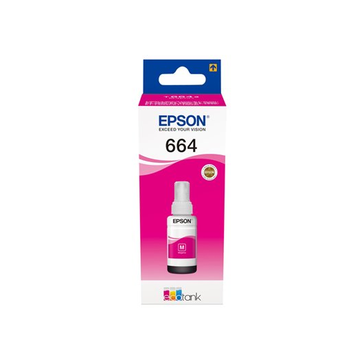 Epson T6643 - EcoTank - Magenta - Cartouche d'encre Epson