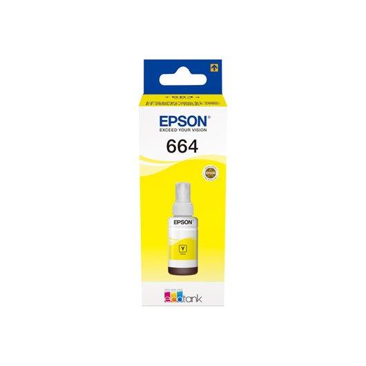 Epson T6644 - EcoTank - Jaune - Cartouche d'encre Epson