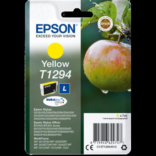 Epson T1294 - Epson Pomme - Jaune - Cartouche d'encre Epson