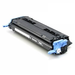 Compatible HP Q6000A - HP 124A - Noir - Toner Compatible HP