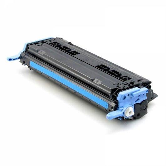 Compatible HP Q6001A - HP 124A - Cyan - Toner Compatible HP