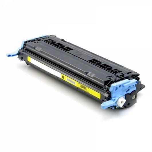 Compatible HP Q6002A - HP 124A - Jaune - Toner Compatible HP