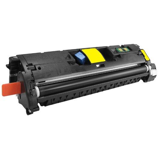 Compatible HP Q3962A - HP 122A - Jaune - Toner Compatible HP