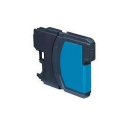 Brother LC-980C - Cyan - Cartouche d'encre Compatible Brother