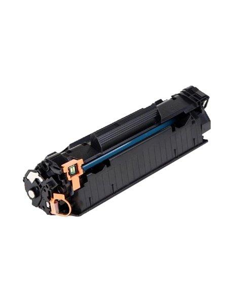 Compatible HP CB436A - HP 36A -  Noir - Toner Compatible HP