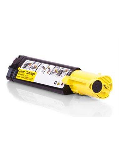 Compatible Epson S050187 - Jaune - Toner XL Compatible Epson
