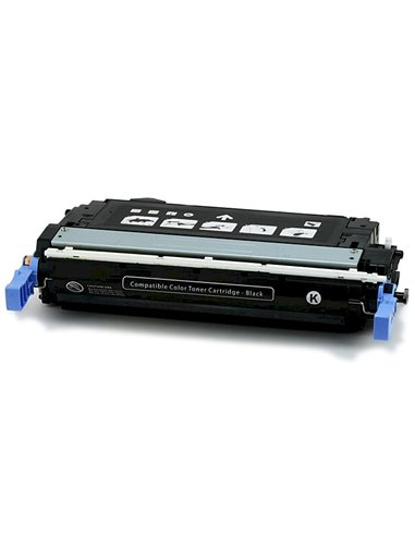 Compatible HP CB400 - HP 642A - Noir - Toner Compatible HP