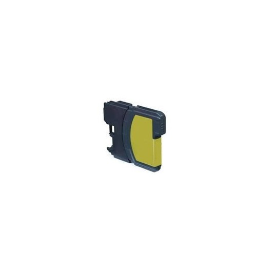 Compatible Brother LC1100 Jaune