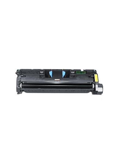 Compatible HP C9702A - HP 121A - Jaune - Toner Compatible HP