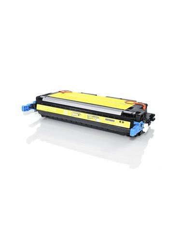 Compatible  HP Q6472 - HP 502A - Jaune - Toner Compatible HP