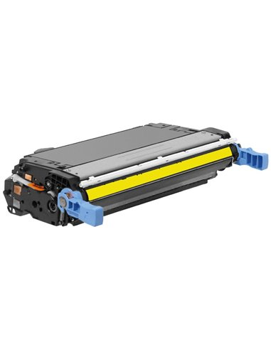 Compatible HP 643A - HP Q5952 - Jaune - Toner Compatible HP