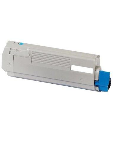 Compatible Oki 43872307 - Cyan - Toner Compatible Oki