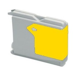 Brother LC-1000Y - Jaune - Cartouche d'encre Compatible Brother