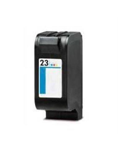 Compatible HP 23 - HP C1823D - Noir - Cartouche Compatible HP