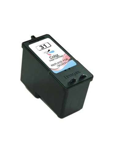 Compatible Lexmark 31 - Trois Couleurs - Cartouche Compatible Lexmark