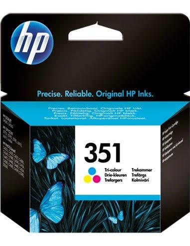 HP 351 - HP CB337EE - Couleurs - Cartouche HP