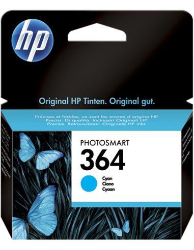 HP 364 - HP CB318EE - Cyan - Cartouche HP