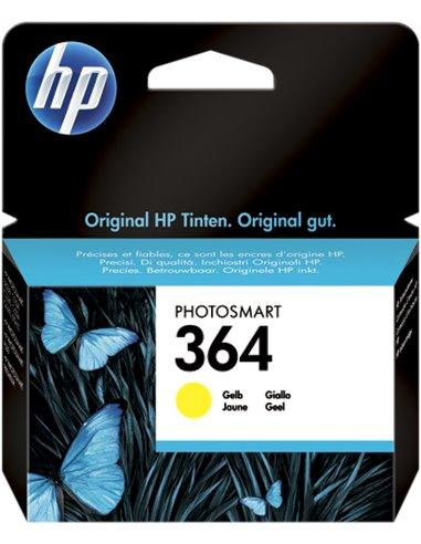 HP 364 - HP CB320EE - Jaune - Cartouche HP
