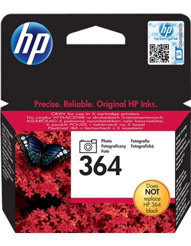 HP 364 - HP CB317EE - Noir Photo  - Cartouche HP