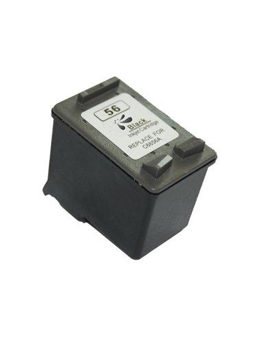 Compatible HP 56XL - HP C6656AE - Noir - Cartouche Compatible HP