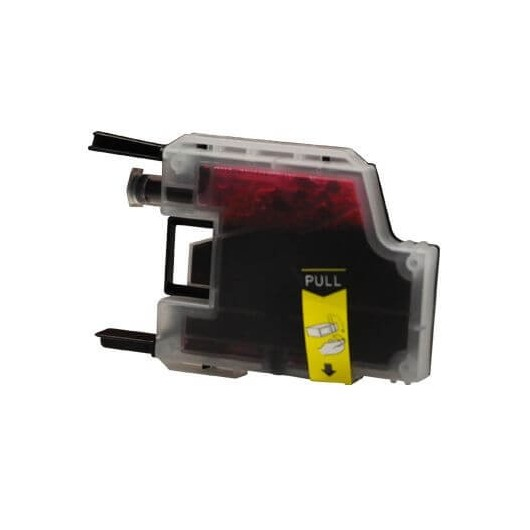 LC1280 Magenta Cartouche jet d'encre Compatible Brother