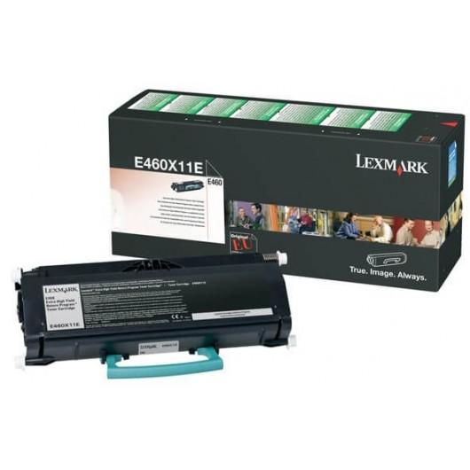 E460X11E Toner Noir Return Programme Très Haute Capacité Lexmark