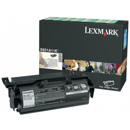 X651A11E Toner Noir Return Programme Lexmark