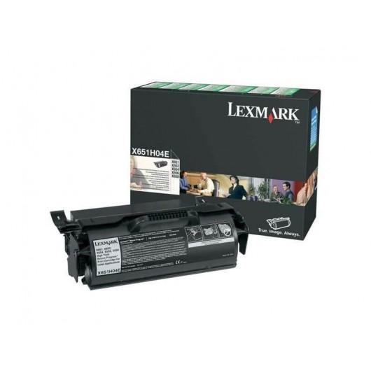 X651H04E Toner Noir Return programme Haute Capacité Lexmark