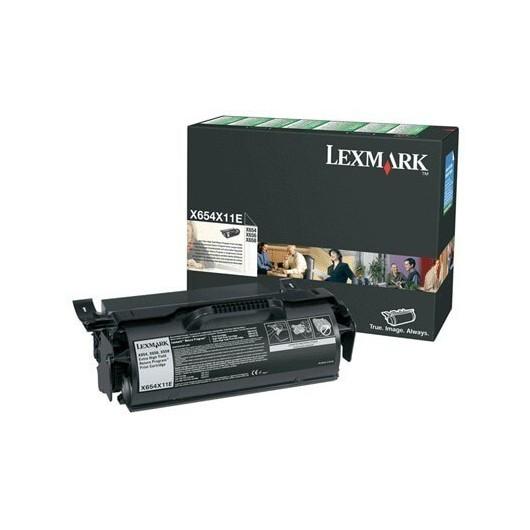 X654X11E Toner Noir Lexmark