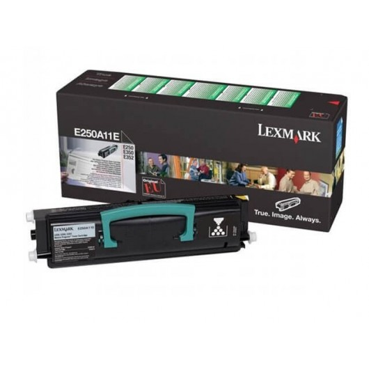E250A11E Toner Noir Lexmark