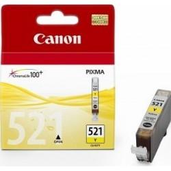 Canon CLI-521 - 2936B001 - Jaune - Cartouche d'encre Canon