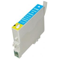 Epson T0802 - Colibrir - Cyan - Cartouche d'encre Compatible Epson