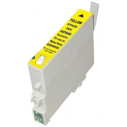 Epson T0804 - Colibri - Jaune - Cartouche d'encre Compatible Epson