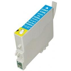 Epson T0805 - Colibri - Cyan Clair - Cartouche d'encre Compatible Epson