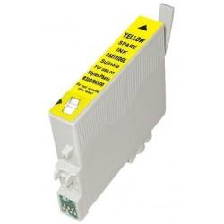 Epson T0484 - Hyppocampe - Jaune - Cartouche d'encre Compatible Epson