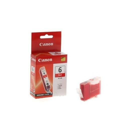 BCI6R Rouge Cartouche Jet d'Encre Canon